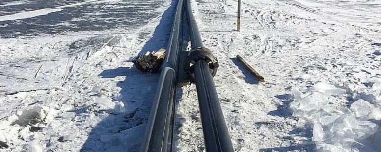 Строительство завода по добыче воды из озера Байкал в п. Култук приостановлено