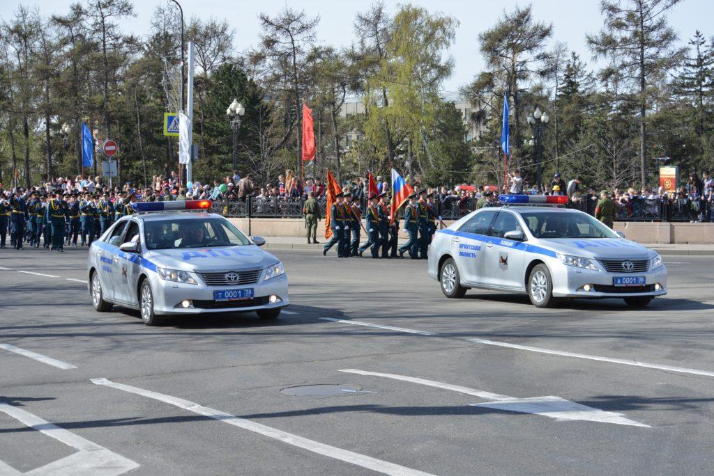 Информация об ограничении движения транспорта по улицам Иркутска в период майских праздников