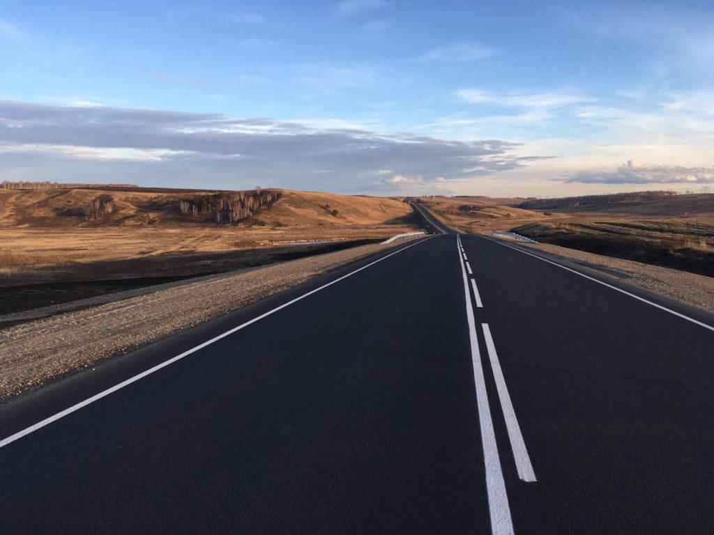 В Куйтунском и Тулунском районах Иркутской области на автодороге Р-255 «Сибирь» начались дорожные работы