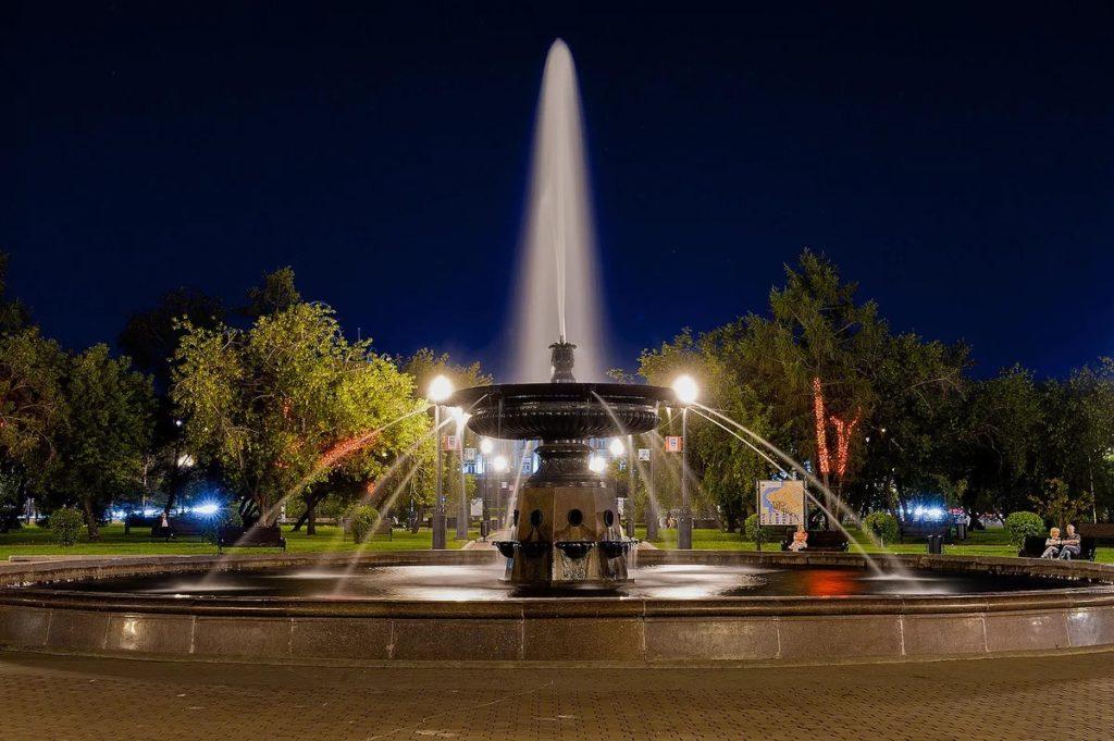Иркутские фонтаны будут включены 1 мая