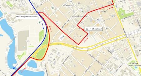 В Иркутске с 13 апреля поменяется схема движения автобусов маршрута №4