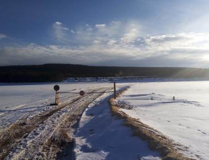 В Иркутской области закрыты все ледовые переправы