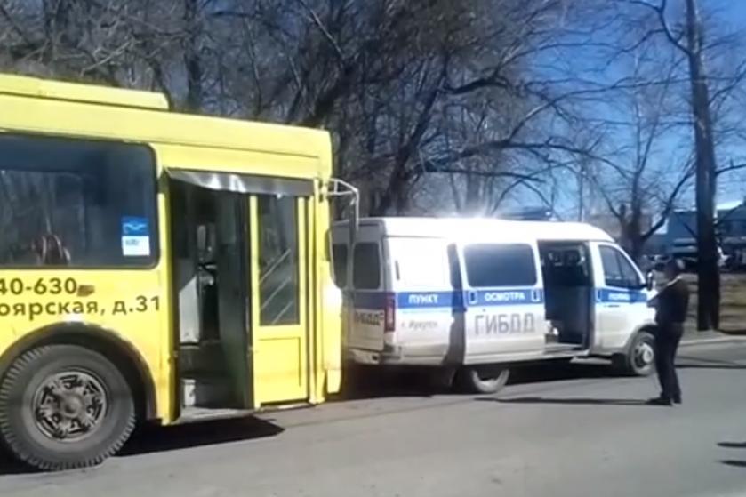 В Иркутске при проверке троллейбусов у четырех выявлена неисправность рулевого управления