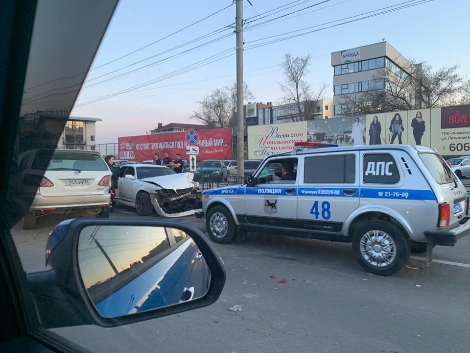 За прошедшую неделю на дорогах Иркутска и района в ДТП пострадали 26 человек