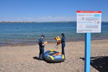 1 июня начнет работать пляж на заливе Якоби в Иркутске