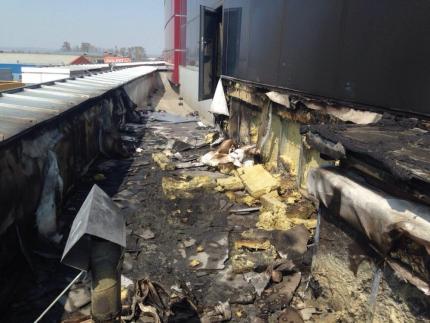 Установлена причина пожара в торгово-развлекательном центре