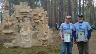 На IX Международном фестивале деревянной скульптуры «Лукоморье на Байкале» одержали победу мастера из Московской области
