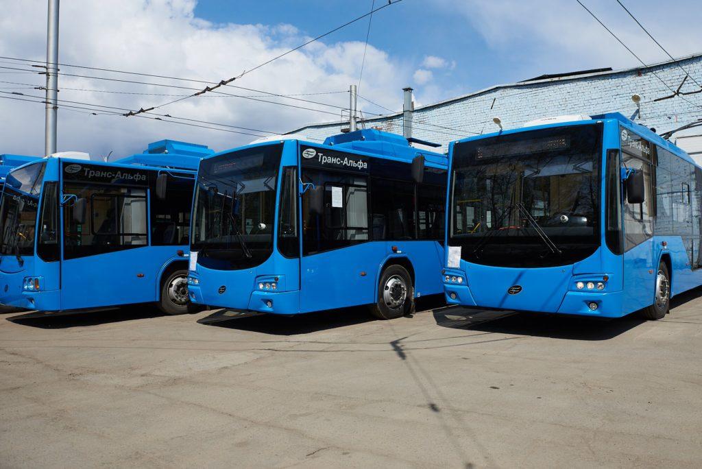 В Иркутске на маршруты выйдут четыре новых троллейбуса