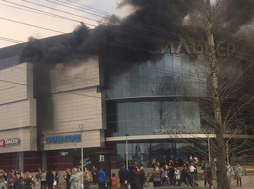 В ТРЦ «Сильвер Молл» города Иркутска потушен пожар