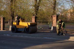 В Иркутске начался ремонт дорог