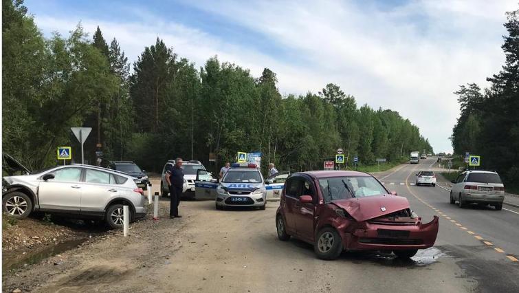 За прошедшую неделю на дорогах Иркутска и района в ДТП пострадали 46 человек