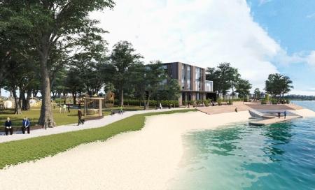 На острове Юность в Иркутске будет построен Центр здорового семейного отдыха