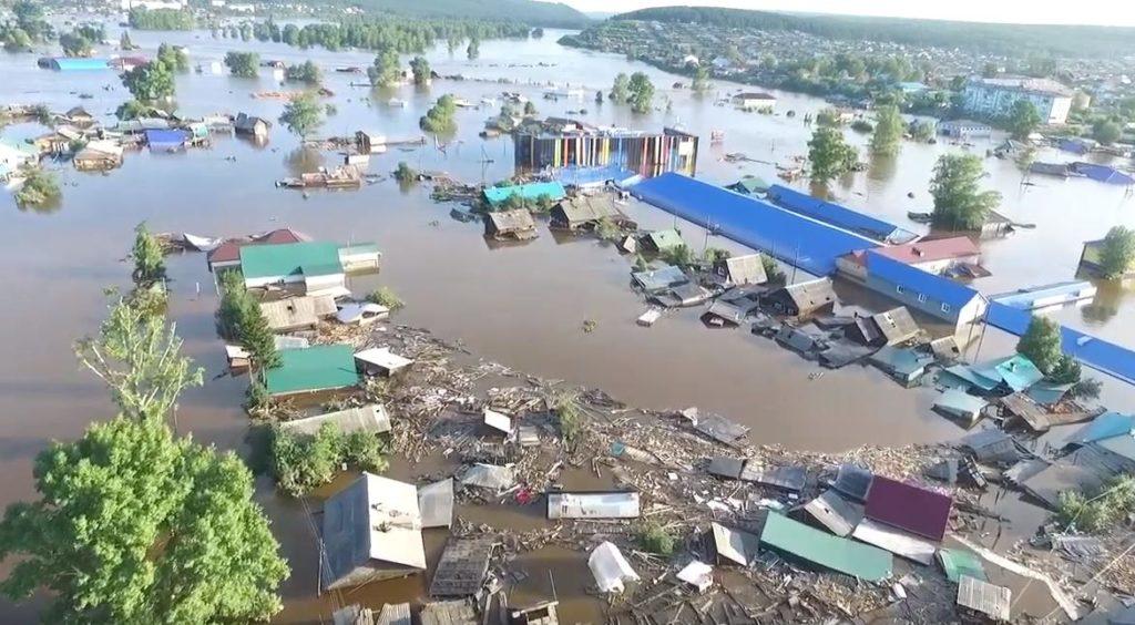 Паводковая ситуация в Иркутской области на 1 июля
