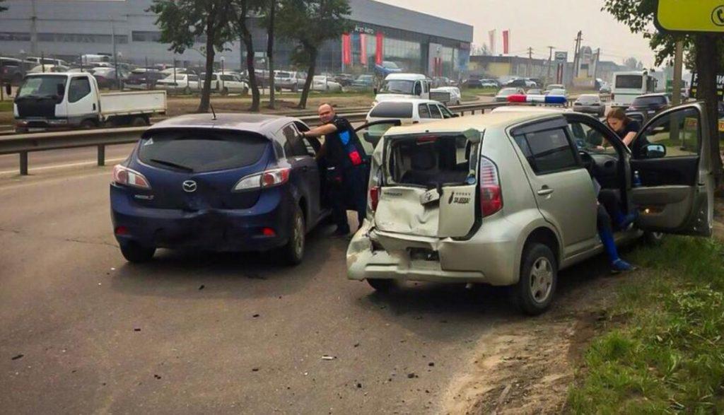 40 человек пострадали в ДТП за прошедшую неделю на дорогах Иркутска и района