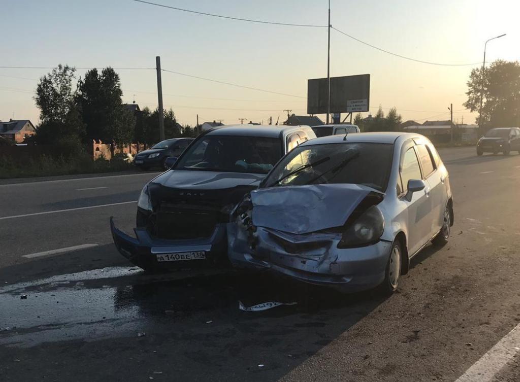 22 человека пострадали и 1 погиб в ДТП за прошедшую неделю на дорогах Иркутска и района