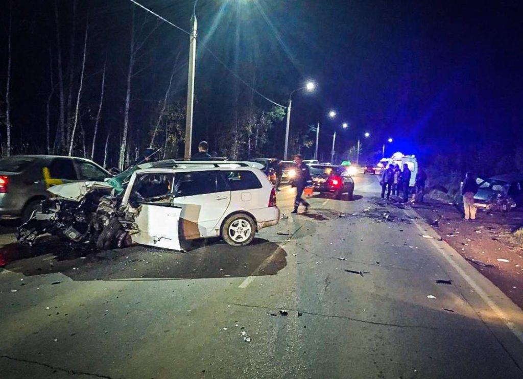 33 человека пострадали в ДТП за прошедшую неделю на дорогах Иркутска и района