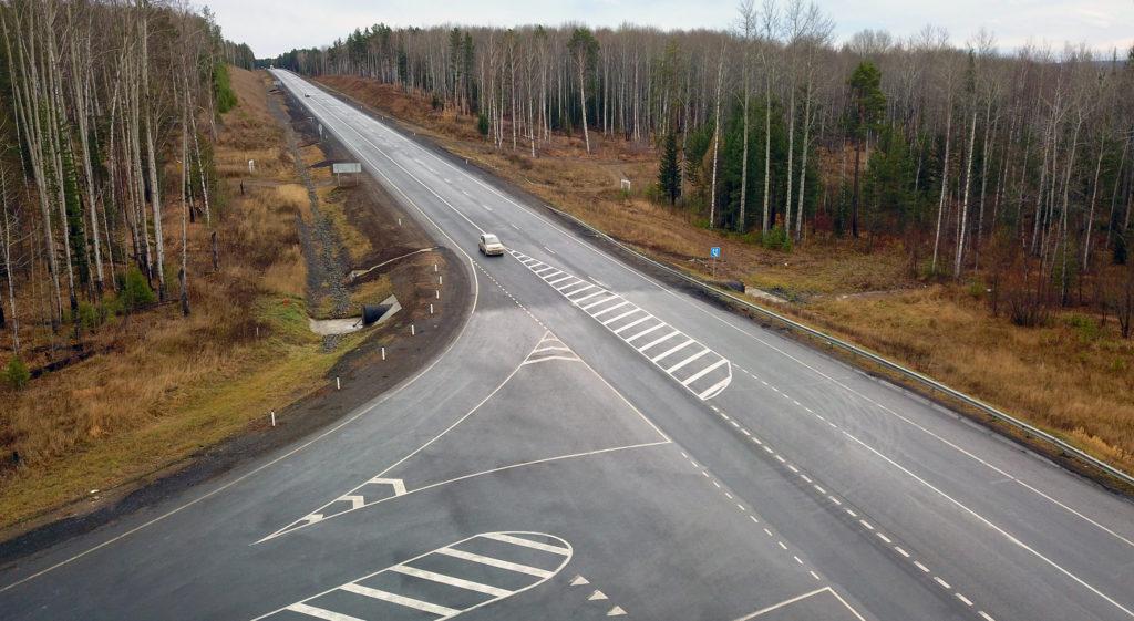 20 километров автодороги Р-255 «Сибирь» отремонтировано с применением комплексного модификатора асфальтобетона
