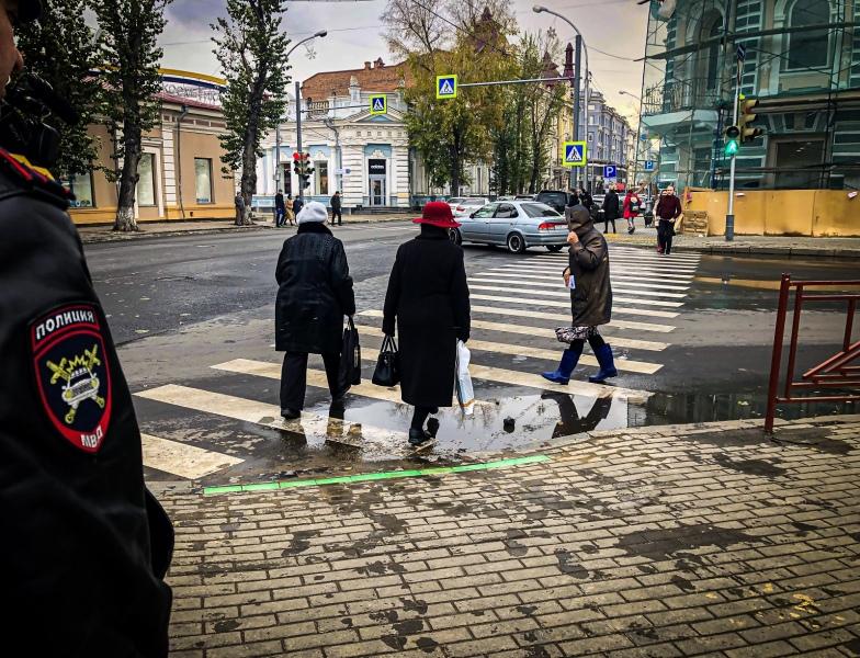 В Иркутске появился спецсветофор для любителей смотреть на экран смартфона