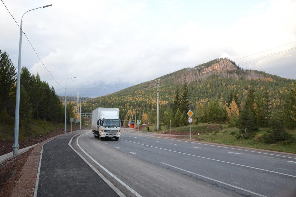 Движение по дороге по обходу г. Усть-Кута открыто после капремонта