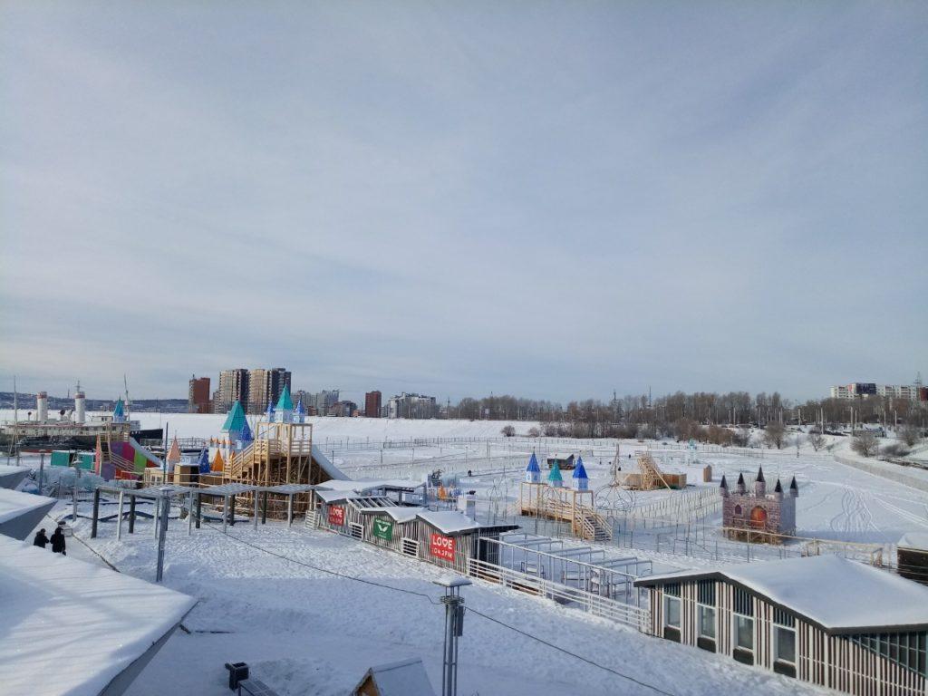 В Иркутске скоро начнет работать ледяной городок «Хрустальная сказка»