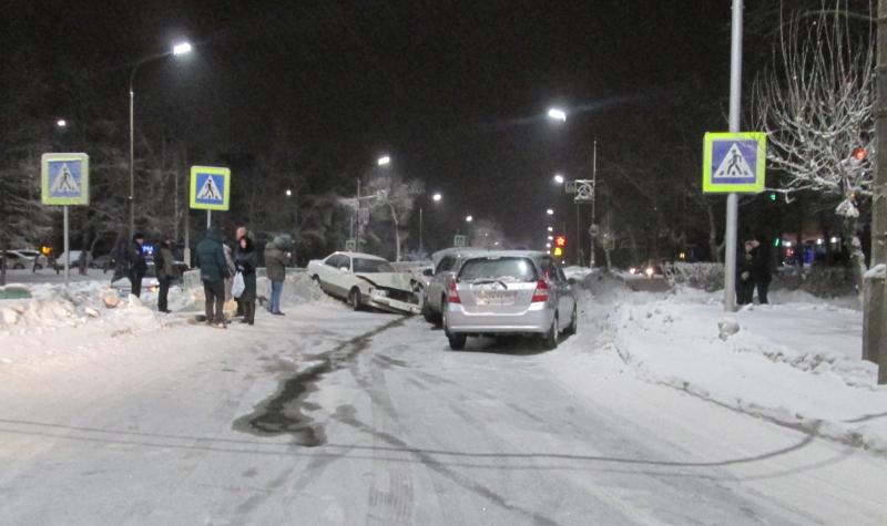 5 женщин пострадали сегодня в Братске в ДТП