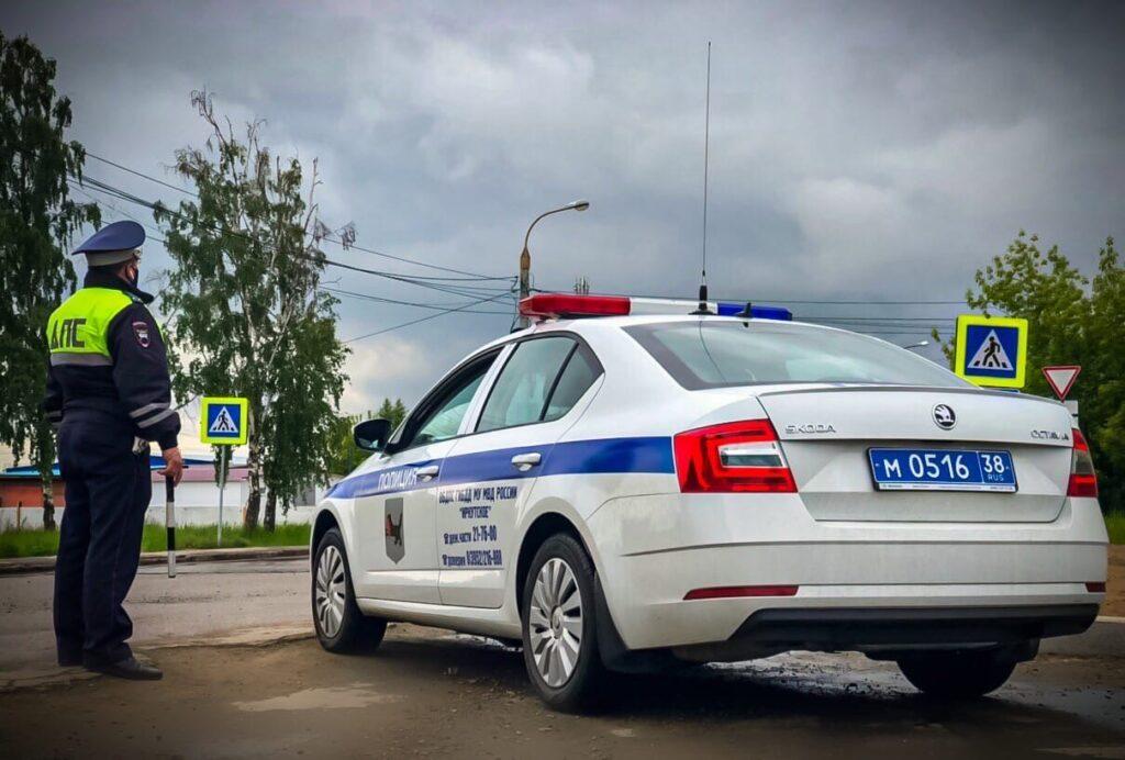 ГИБДД о происшествиях на пешеходных переходах в Иркутске