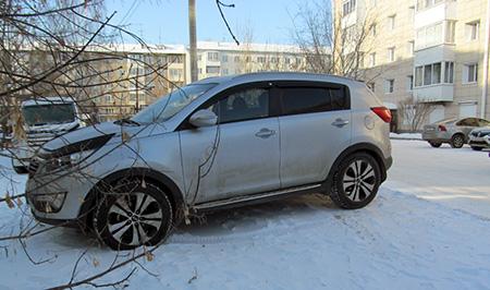 В Иркутске около 30 водителей привлечены к ответственности за парковку на газонах