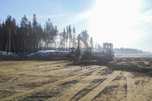 Возобновилось строительство обхода города Усолье-Сибирское