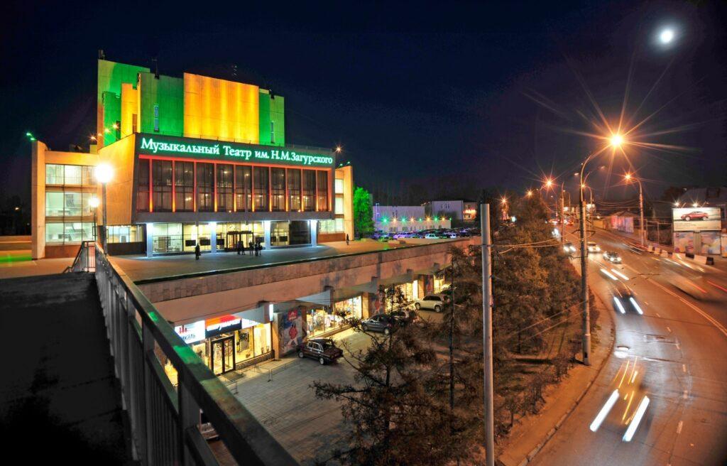 Иркутскому областному музыкальному театру им. Н.М.Загурского исполнилось 80 лет