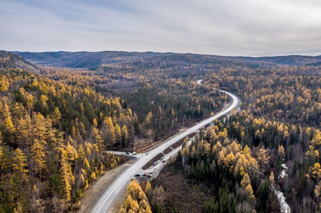 Начат капремонт участка дороги Иркутск – Большое Голоустное