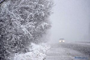 Сильный снег ожидается в Иркутском, Шелеховском и Слюдянском районах 21 апреля