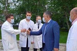 В Иркутске завершается подготовка к открытию ковидного госпиталя в областной клинической больнице
