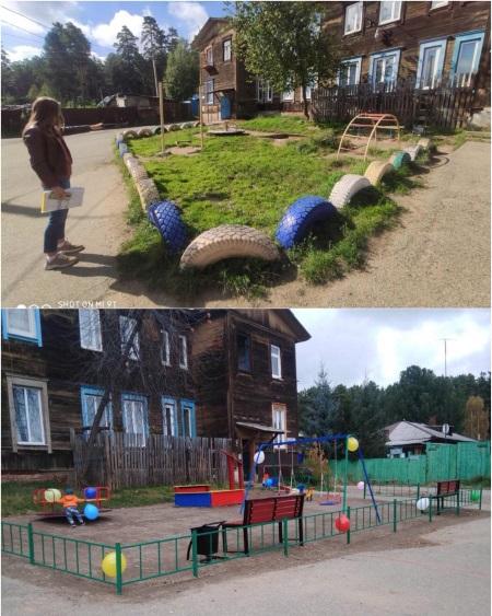 С детских площадок Правобережного округа Иркутска демонтируют 170 неисправных объектов
