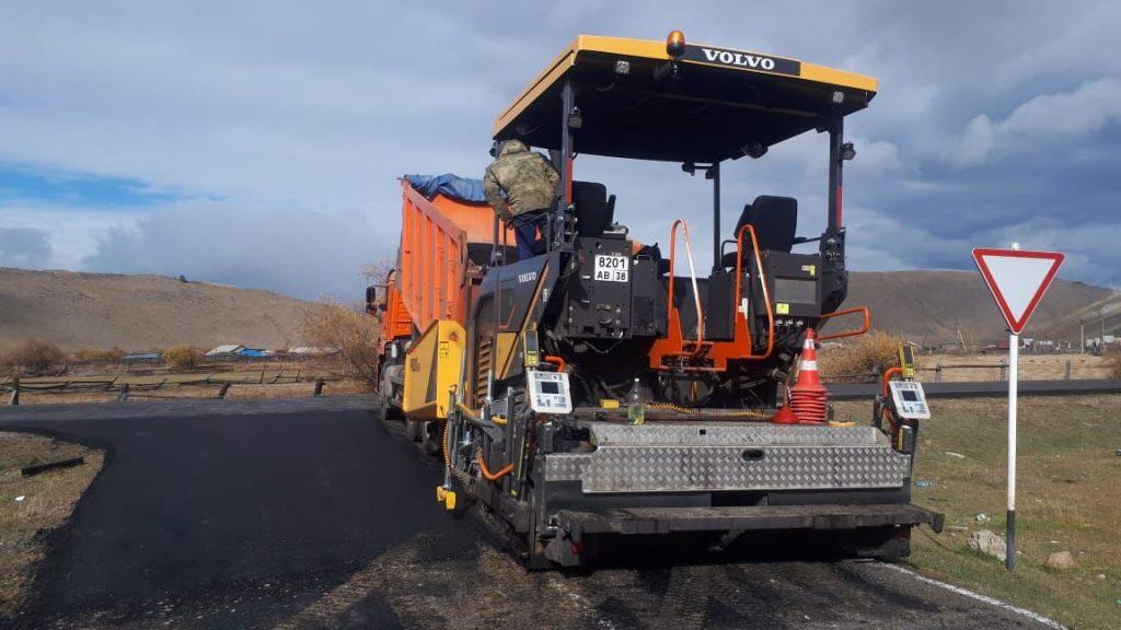 Близится завершение ремонта автодороги Баяндай – Еланцы – Хужир